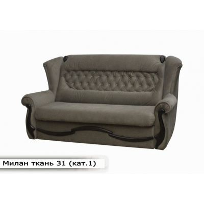 Выкатной диван Милан. Ткань-31 (кат.1)
