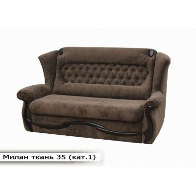 Выкатной диван Милан. Ткань-35 (кат.1)