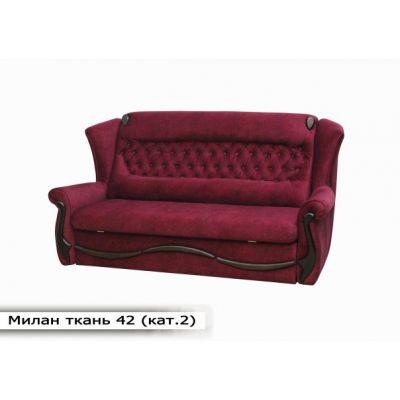 Выкатной диван Милан. Ткань-42 (кат.2)